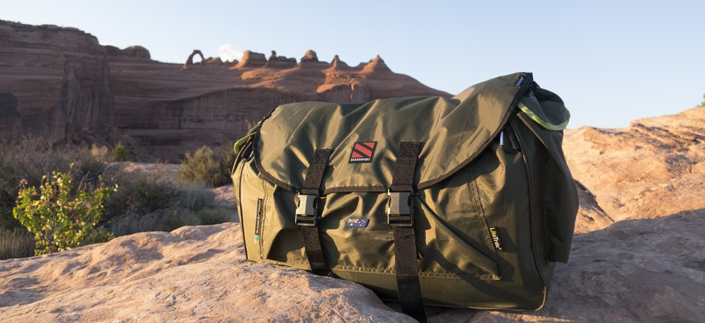 Untamed Backpack Bed Outside