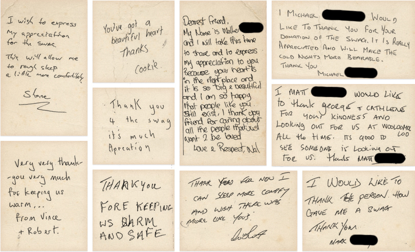 HomelessThankYouNotes